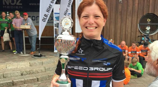 1. Platz beim 24H-Mountainbike-Rennen am Alfsee