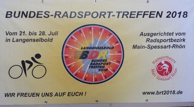 Bundesradsporttreffen 2018 in Langenselbold