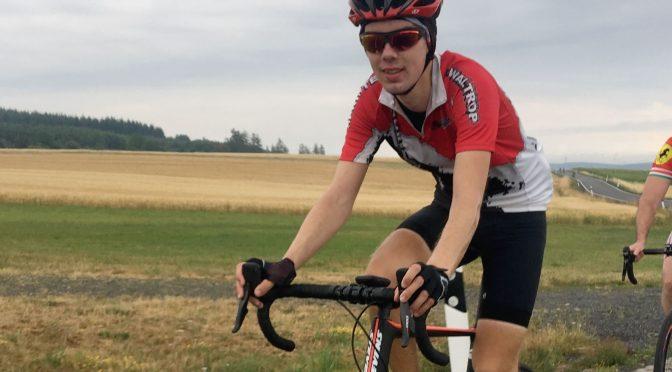 Dennis Bak bewältigt härtesten Radmarathon Deutschlands