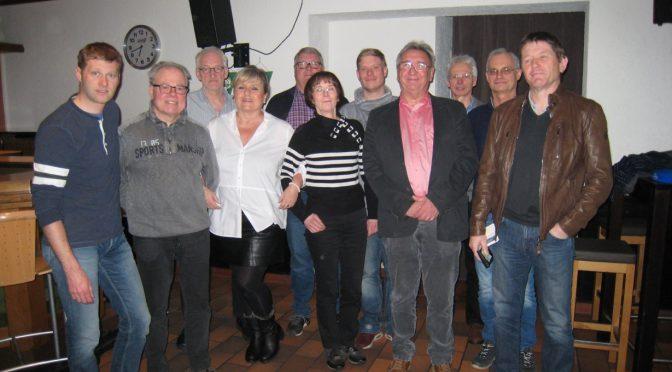 Jahreshauptversammlung mit Vorstandswahlen