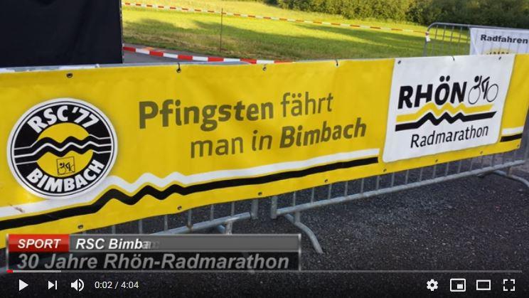 Dennis B. von RC Sprinter Waltrop fährt den Rhön Radmarathon des RSC Bimbach
