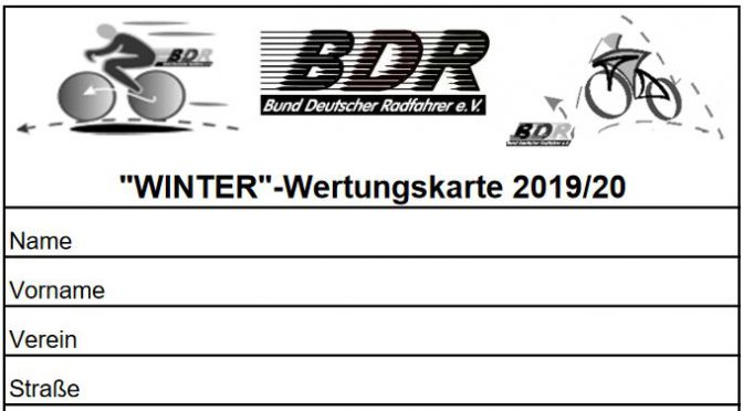 WINTER-Wertungskarte 2019-2020