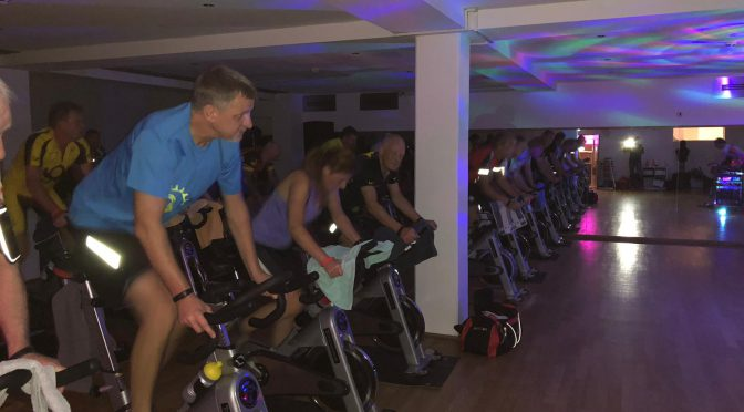 Indoorcycling im Sportforum Castrop