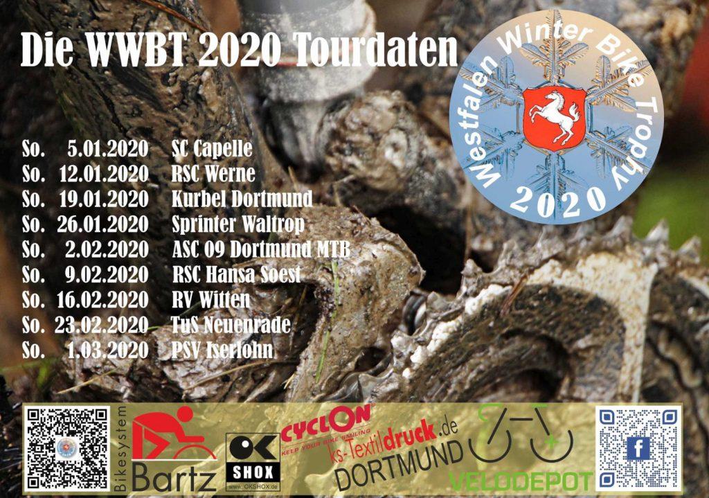 Die WWBT 2020 Tourdaten
