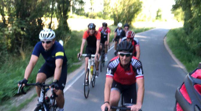 Trainingsgruppe Sport fährt wieder