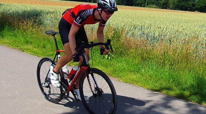 Hitzeschlacht über 300 Kilometer in der Rhön