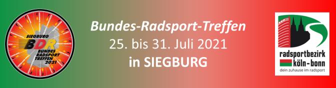 Bundesradsporttreffen in Siegburg