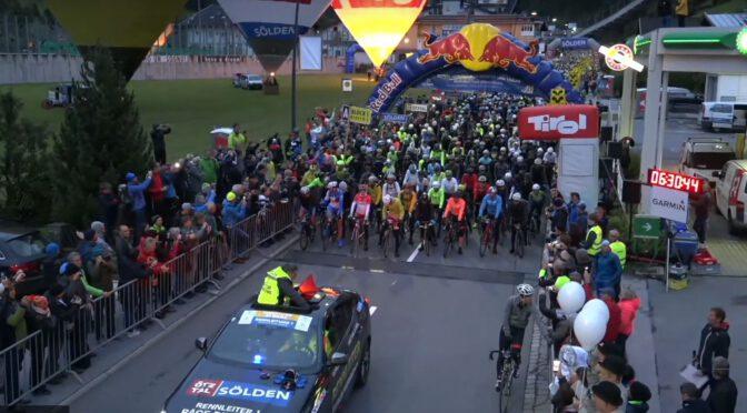 Sprinter auf dem 40. Ötztaler Radmarathon 2021
