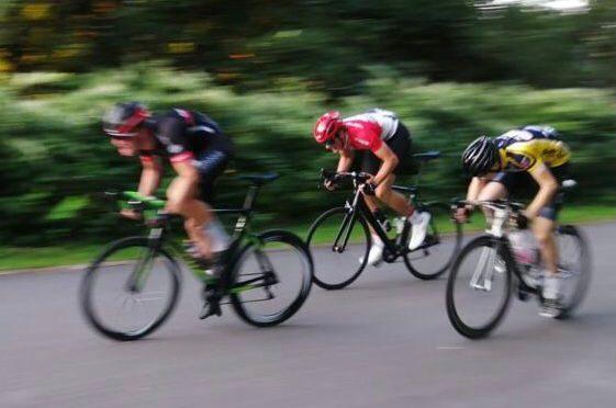 """Sprinter Waltrop Jan Albrecht beim Radrennen """"Wappen von Pulheim"""""""